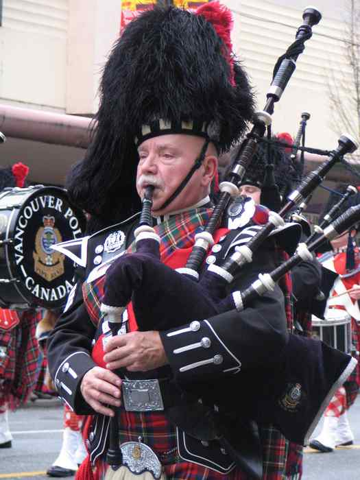 Jim McWilliams – Accomplished Piper and Composer, Vancouver BC